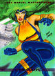 Lorna Dane (Earth-616) from Marvel Masterpieces (Trading Cards) 001