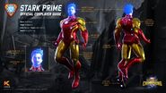 Marvel Realm of Champions Stark Prime Official Cosplayer Guide