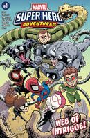 Marvel Super Hero Adventures Spider-Man - Web of Intrigue Vol 1 1