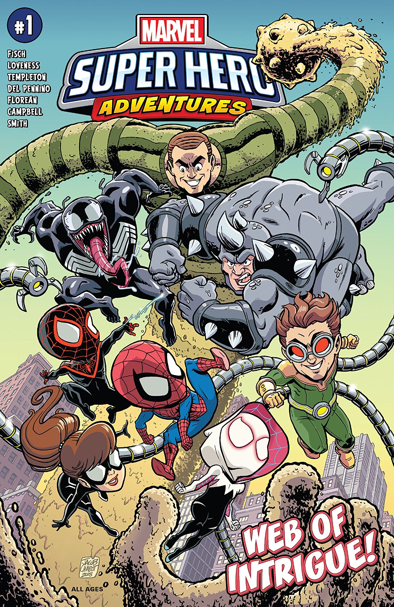 Marvel Super Hero Adventures: Spider-Man - Web of Intrigue Vol 1 1