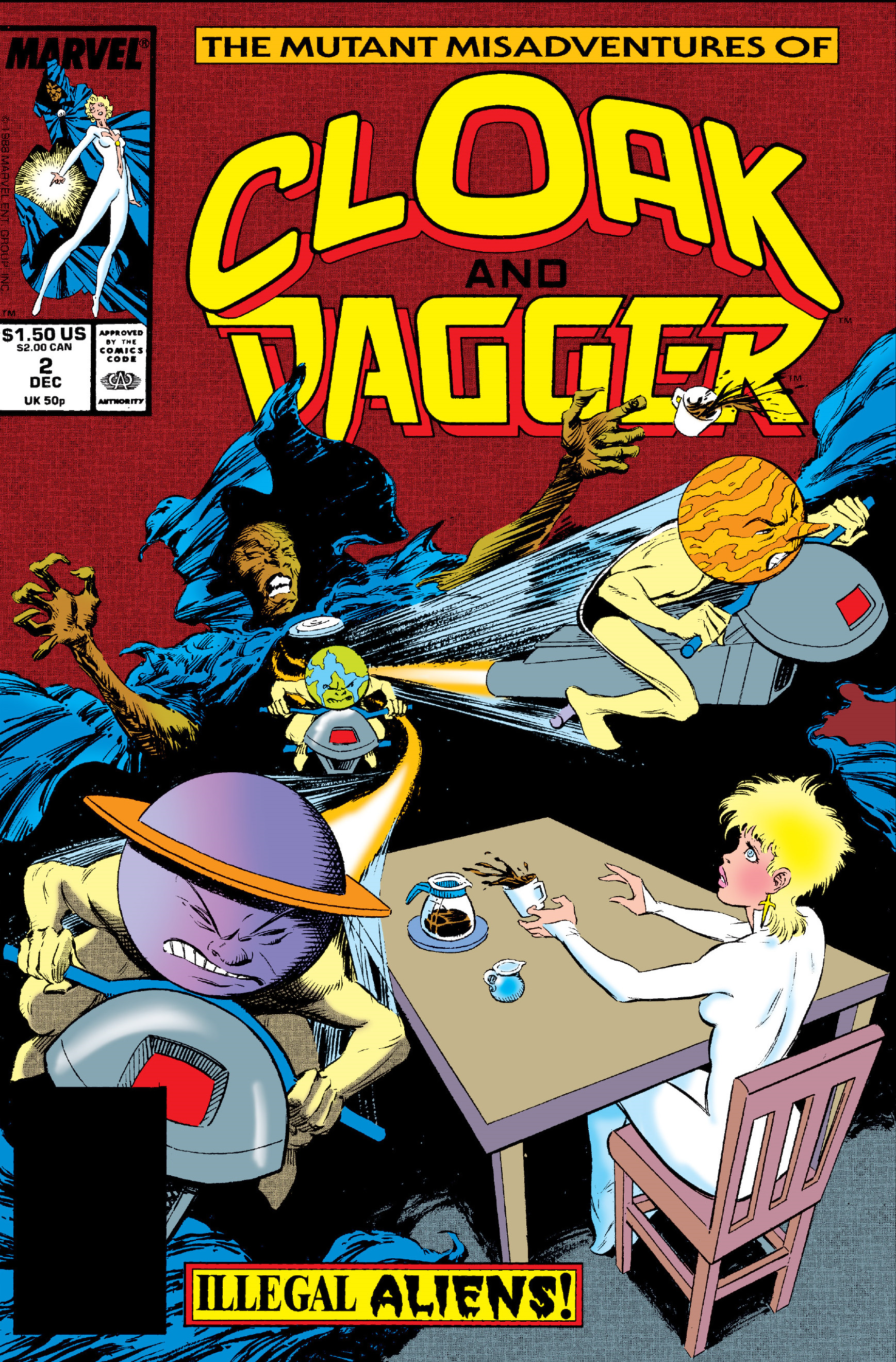 Mutant Misadventures of Cloak and Dagger Vol 1 2