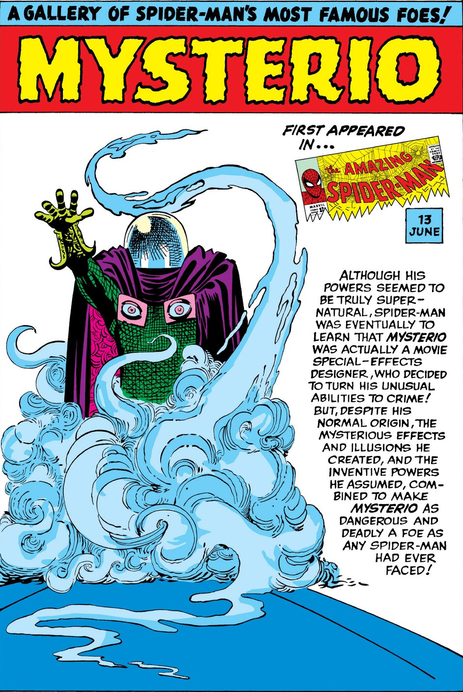 Mysterio Pin-Up from Amazing Spider-Man Annual Vol 1 1.jpg