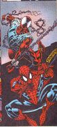 Peter Parker (Earth-616) and Ben Reilly (Earth-616) from Web of Spider-Man Vol 1 128 0001