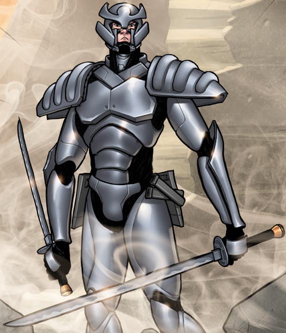 Silver Samurai's Armor