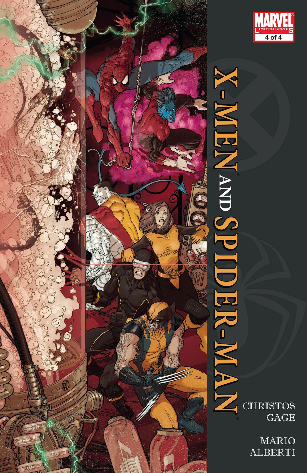 X-Men / Spider-Man Vol 1 4