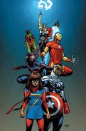 All-New, All-Different Avengers Vol 1 1 Asrar Variant Textless