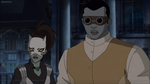 Ava Ayala (Earth-TRN577) & Luke Cage (Earth-TRN577) from Ultimate Spider-Man TV Series 001