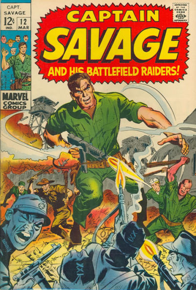 Capt. Savage and his Leatherneck Raiders Vol 1 12