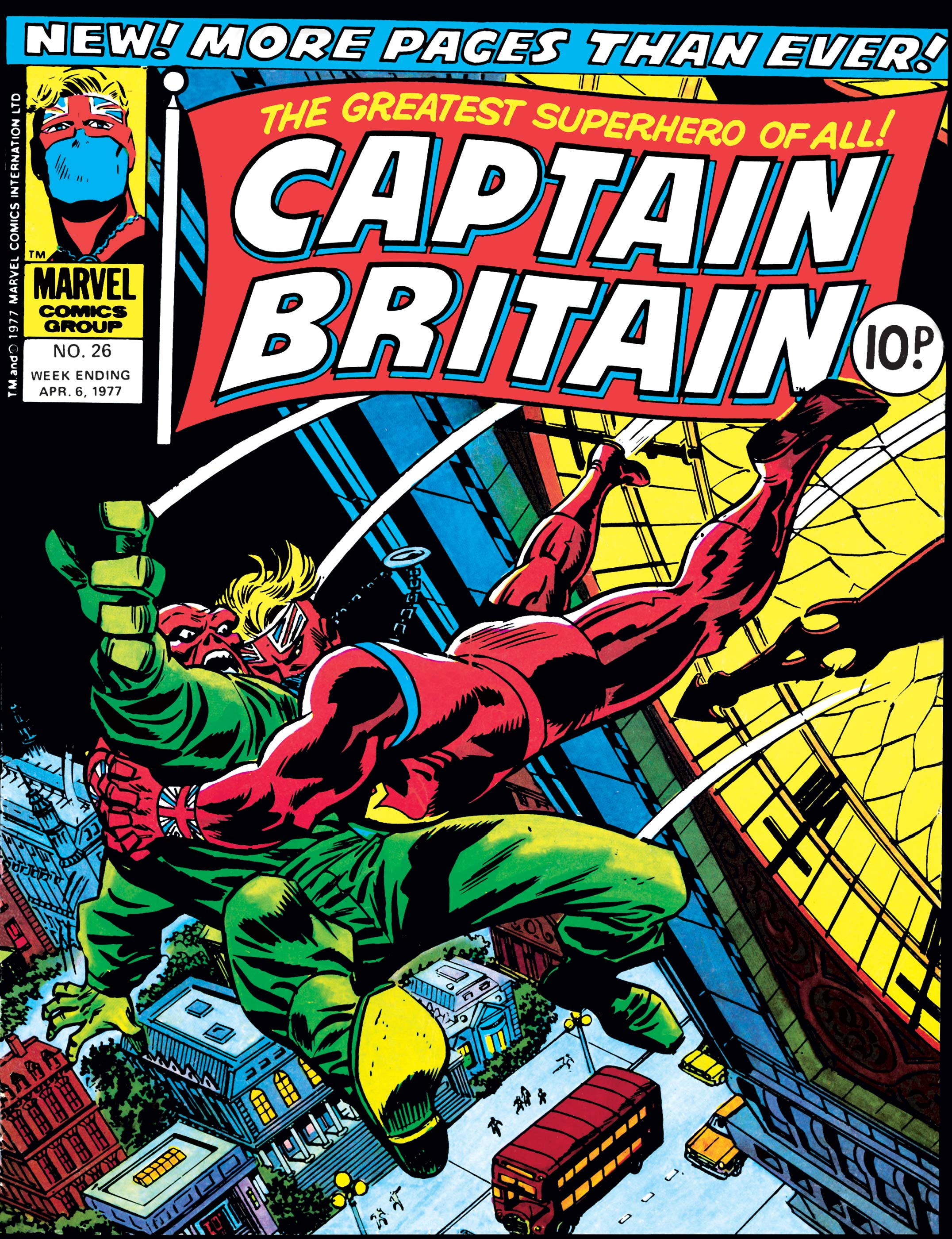 Captain Britain Vol 1 26