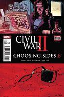Civil War II Choosing Sides Vol 1 6