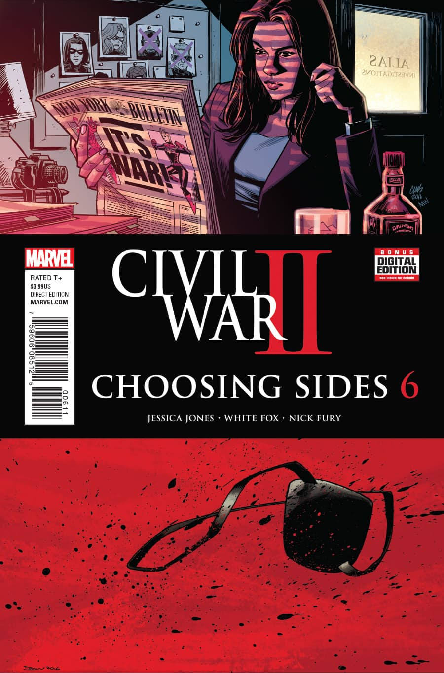 Civil War II: Choosing Sides Vol 1 6