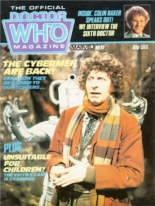 Doctor Who Magazine Vol 1 97