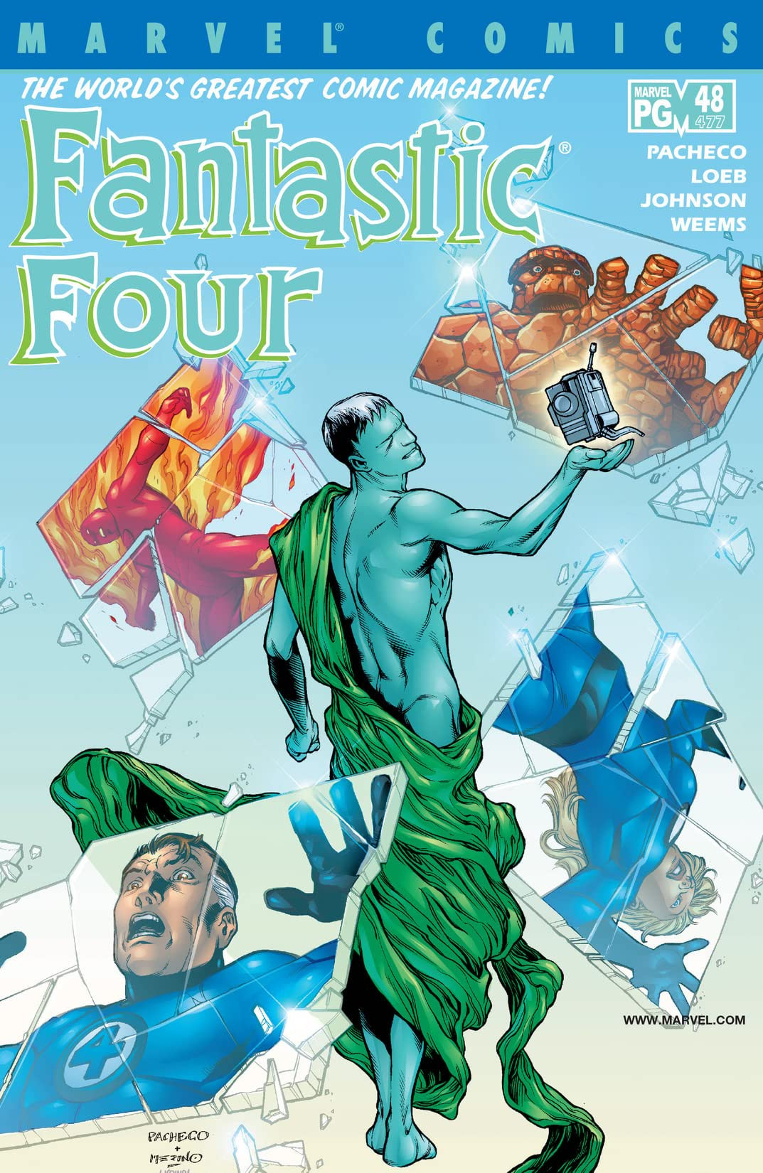 Fantastic Four Vol 3 48