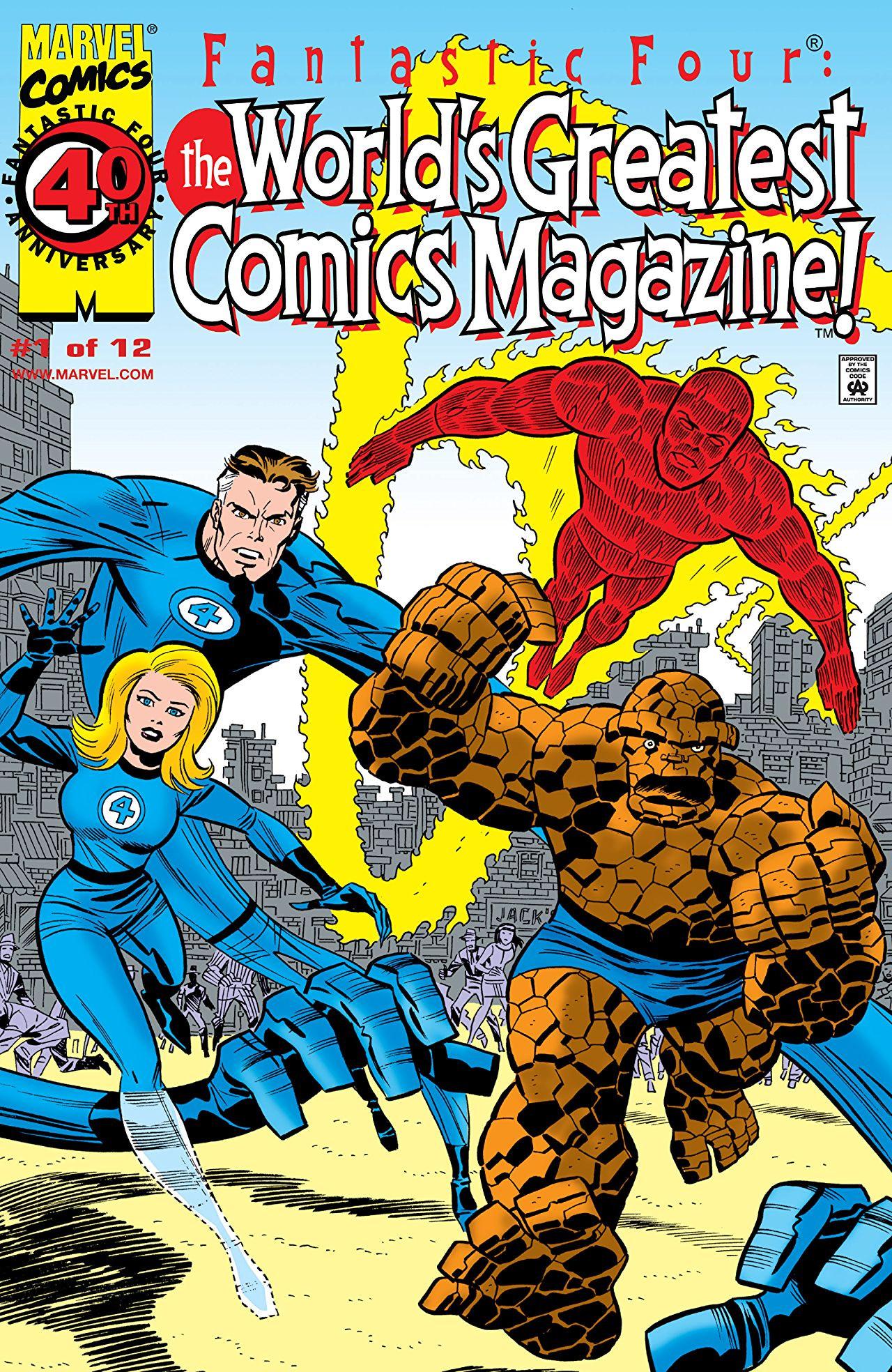 Fantastic Four: World's Greatest Comics Magazine Vol 1