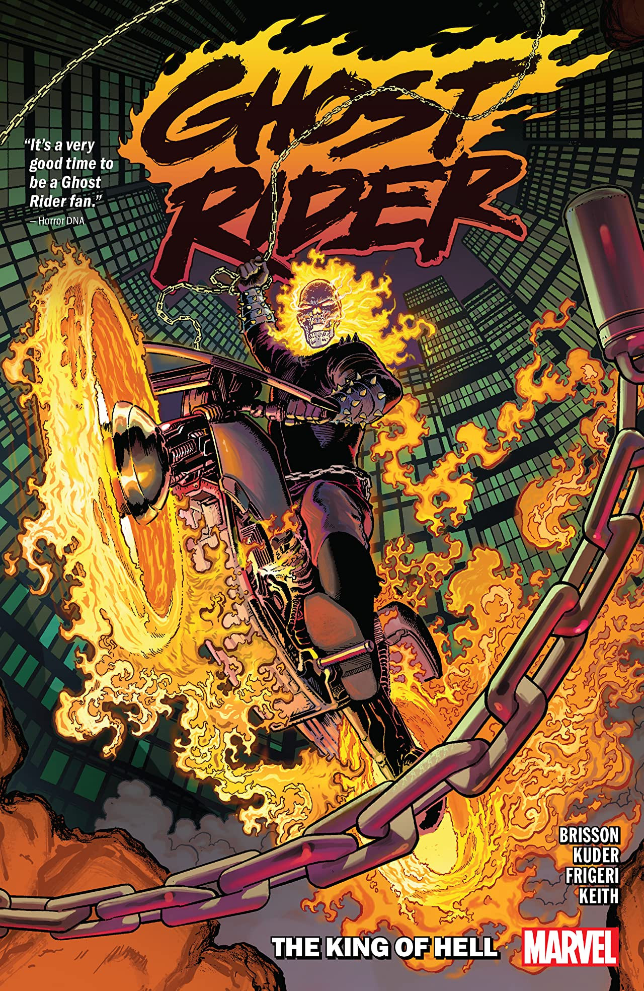 Ghost Rider TPB Vol 1 1: The King of Hell