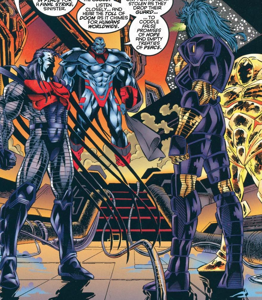 Horsemen of Apocalypse (Earth-295)/Gallery