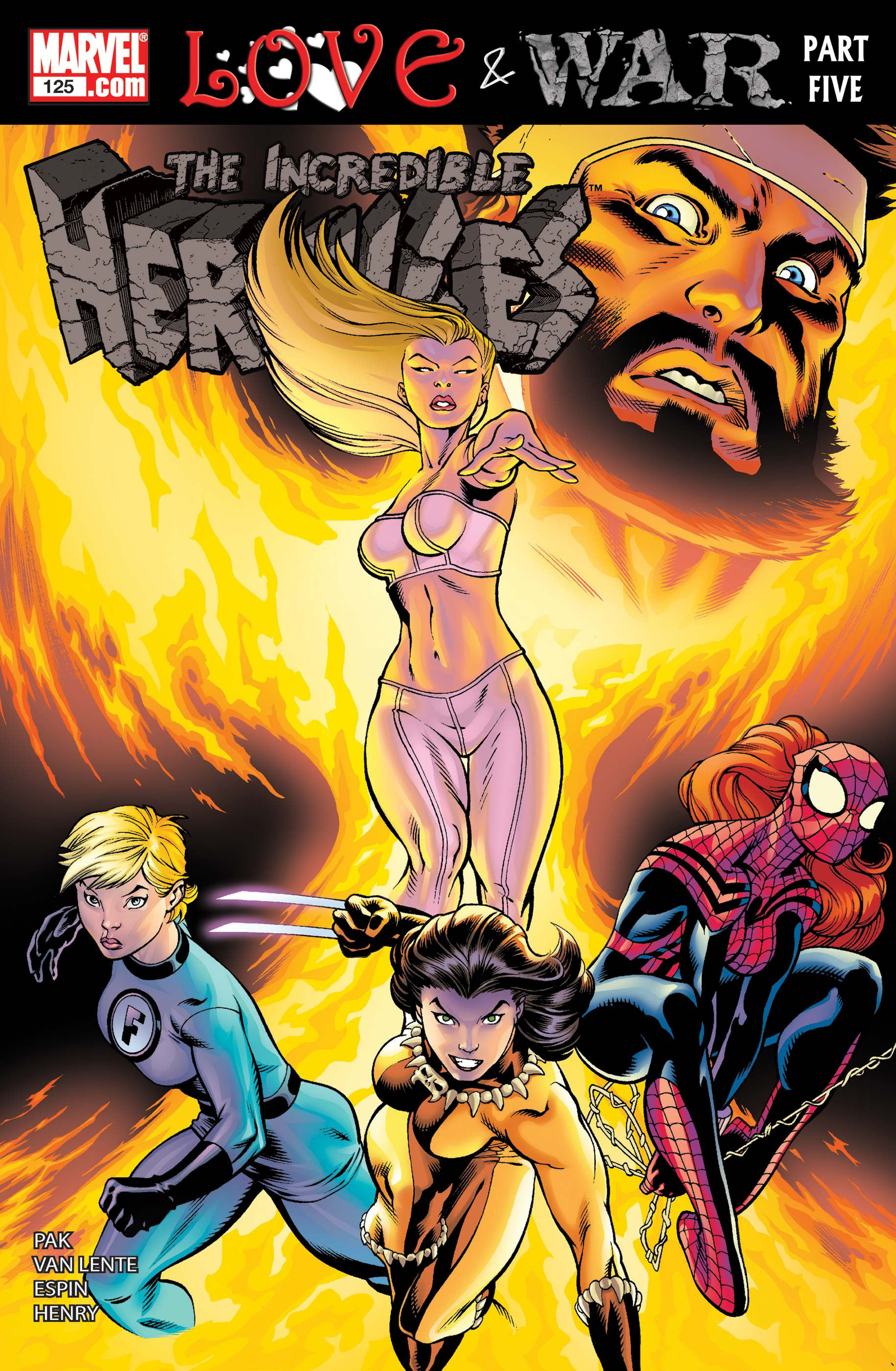 Incredible Hercules Vol 1 125
