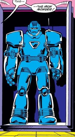 Iron Monger Armor MK I from Iron Man Vol 1 200 001.jpg