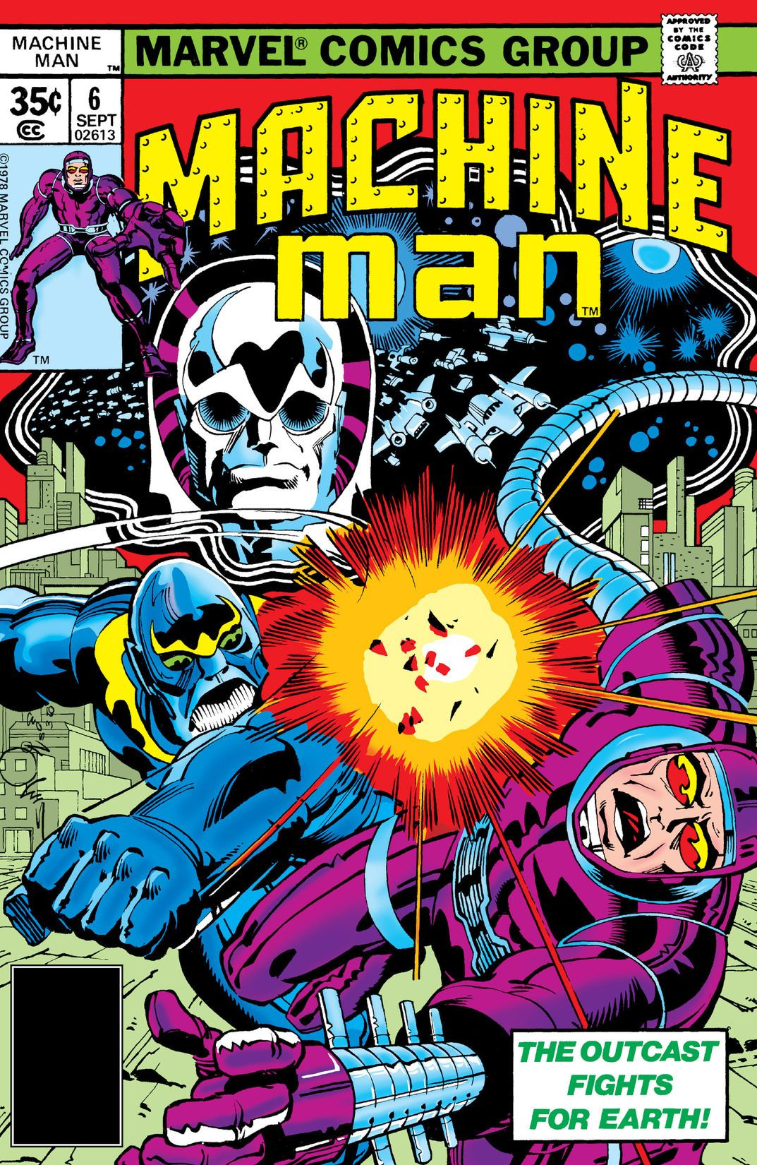 Machine Man Vol 1 6