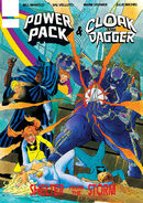 Marvel Graphic Novel Cloak and Dagger and Power Pack Shelter from the Storm Vol 1 1