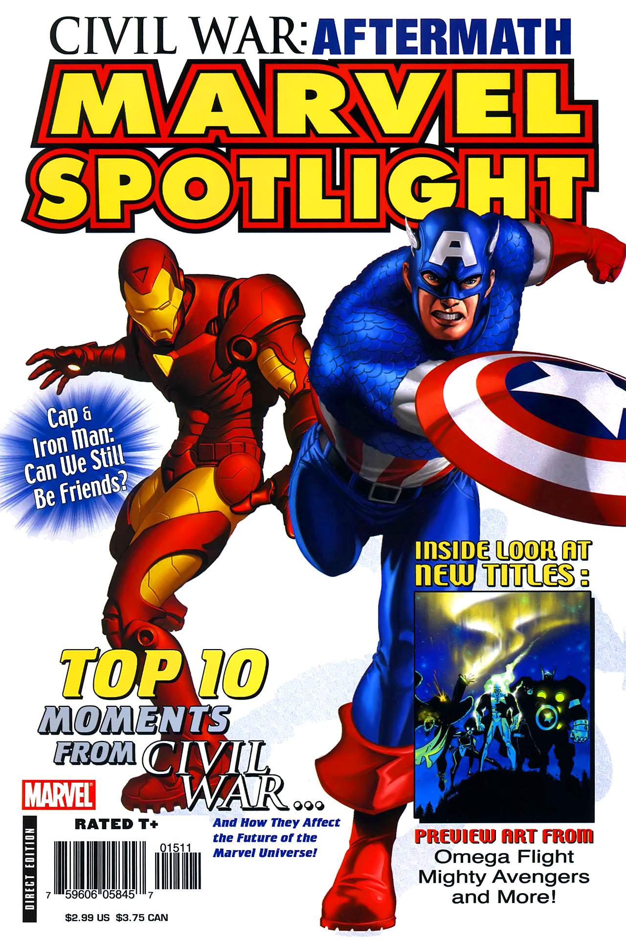 Marvel Spotlight: Civil War Aftermath Vol 1