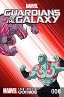 Marvel Universe Guardians of the Galaxy Infinite Comic Vol 1 8
