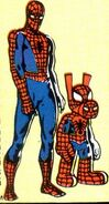 Peter Parker (Earth-616) and Peter Porker (Earth-8311) from Marvel Tales Vol 2 209