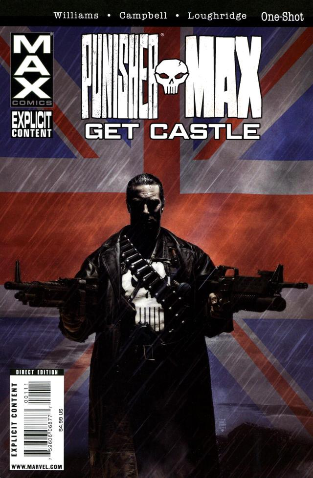 Punisher Max: Get Castle Vol 1 1