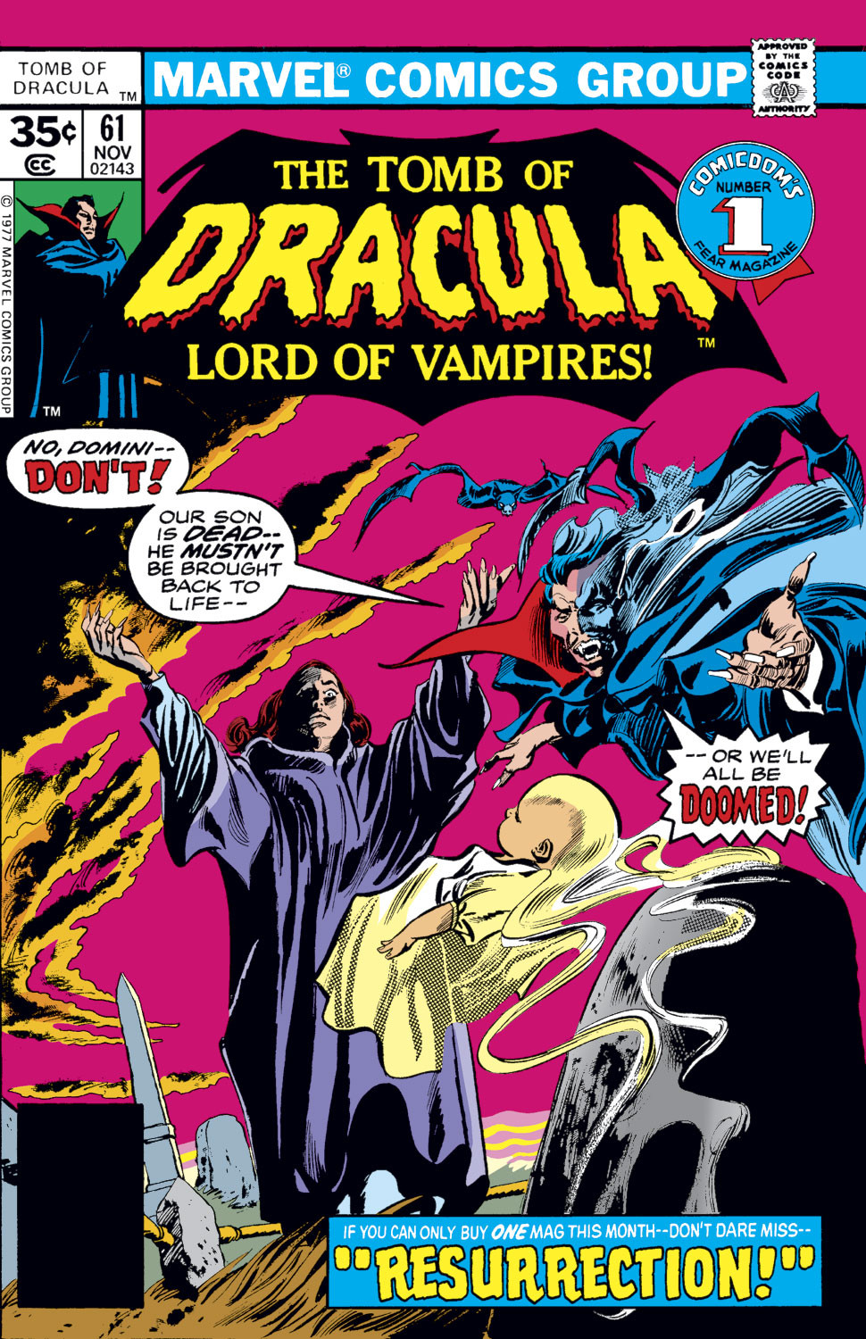 Tomb of Dracula Vol 1 61