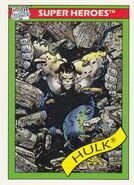 Bruce Banner (Earth-616) from Marvel Universe Cards Series I 0002
