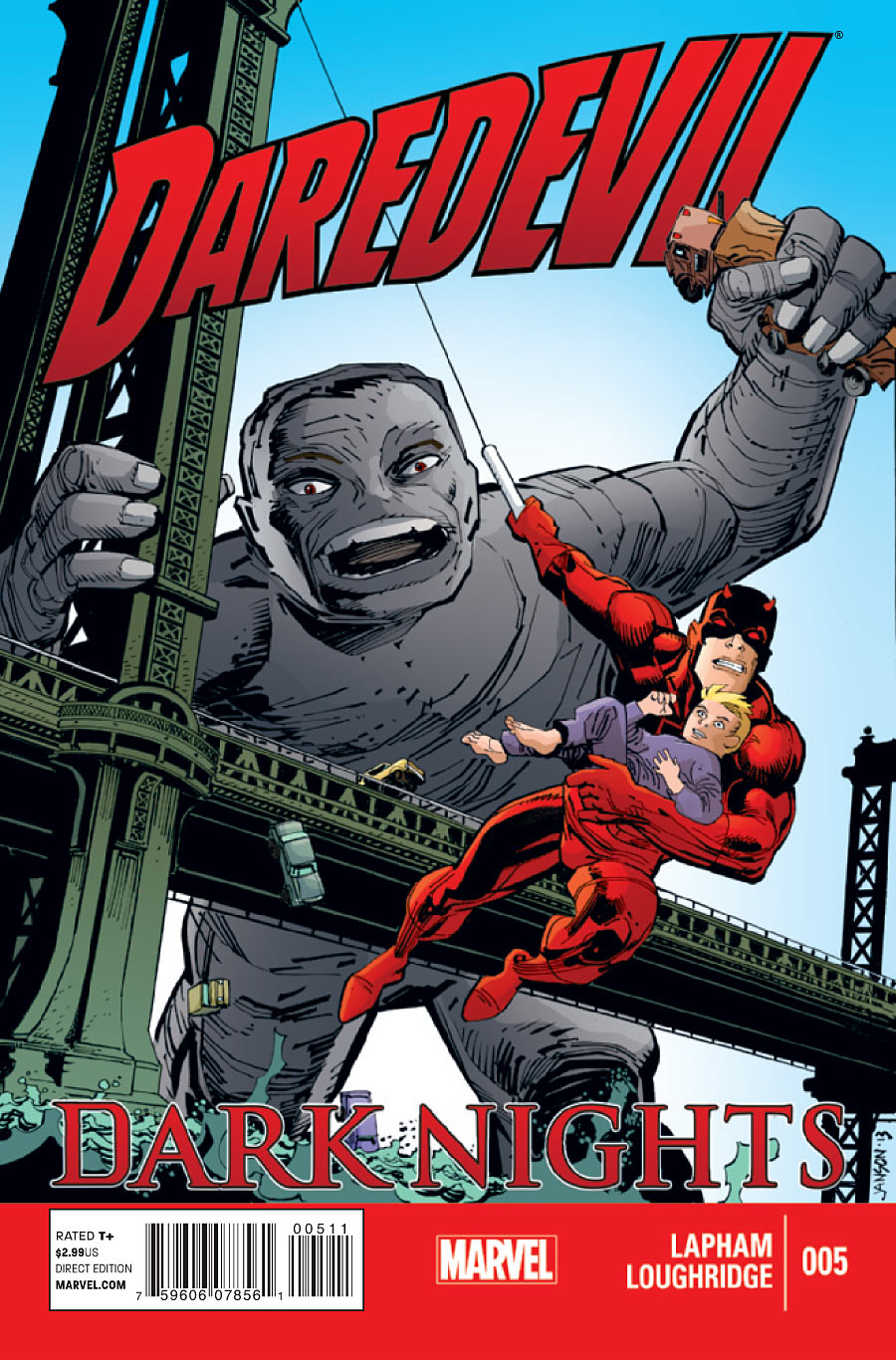 Daredevil: Dark Nights Vol 1 5