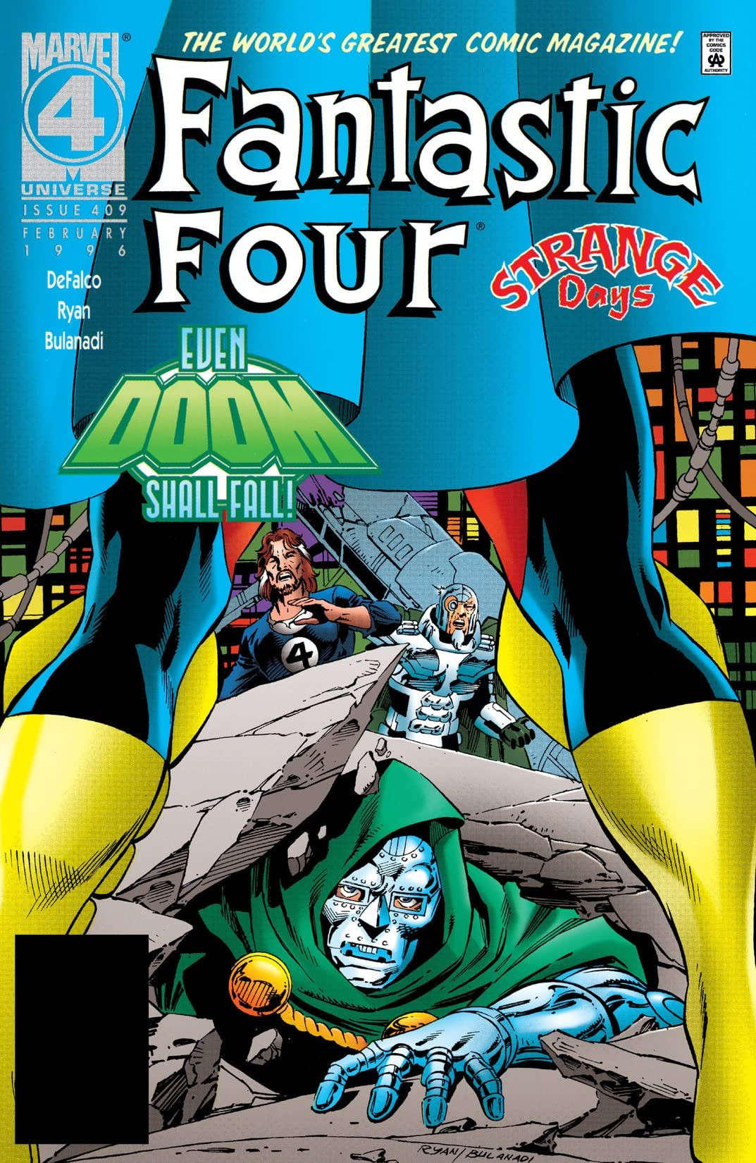 Fantastic Four Vol 1 409