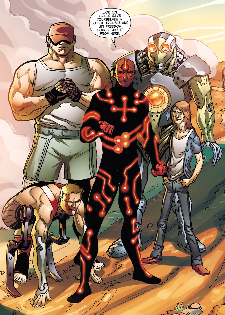 Freedom Force (Project: Wide-Eye) (Earth-616)