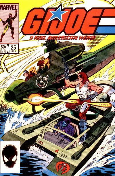 G.I. Joe: A Real American Hero Vol 1 25