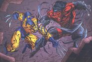Jefferson Kotto (Earth-93060) and James Howlett (Earth-616) from Battlezones Dream Team 2 Vol 1 1 0001