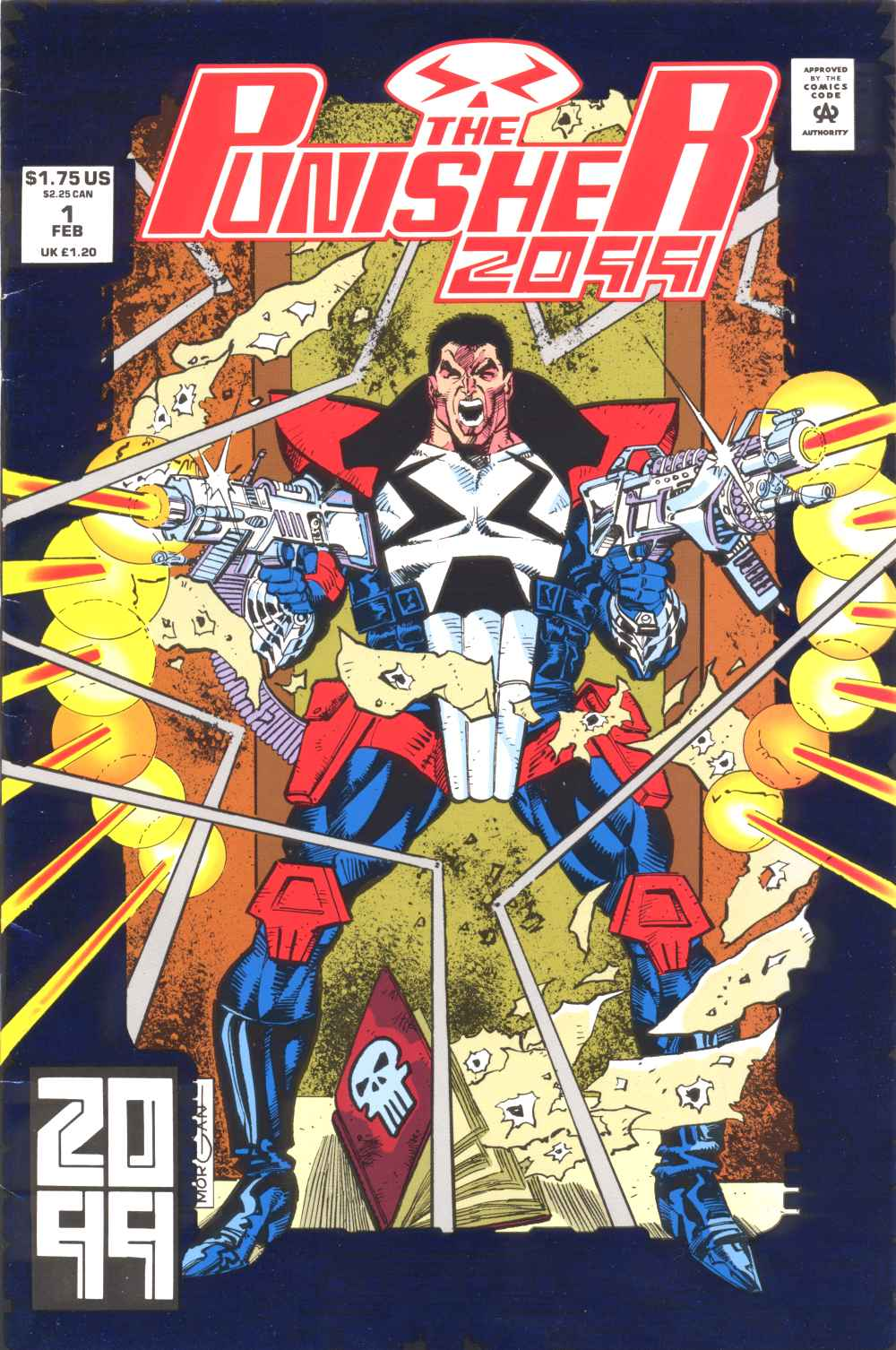 Punisher 2099 Vol 1 1