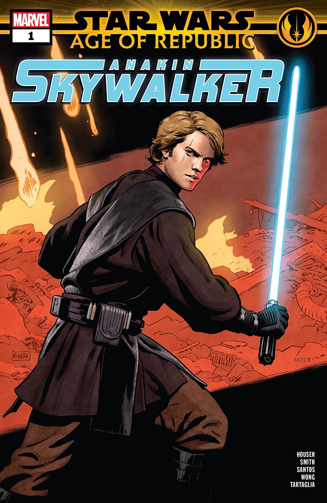 Star Wars: Age of Republic - Anakin Skywalker Vol 1 1