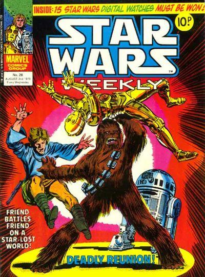 Star Wars Weekly (UK) Vol 1 26