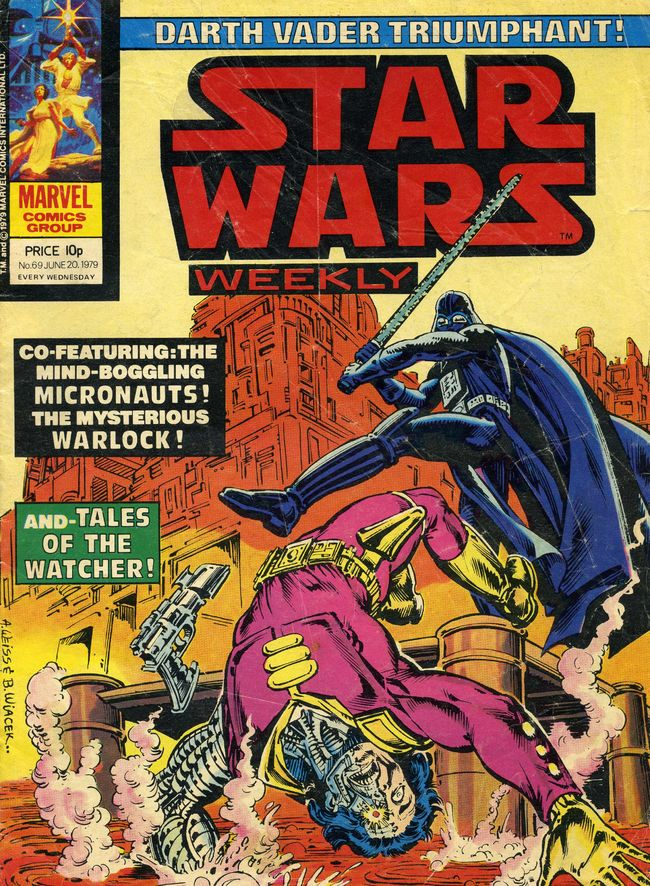 Star Wars Weekly (UK) Vol 1 69