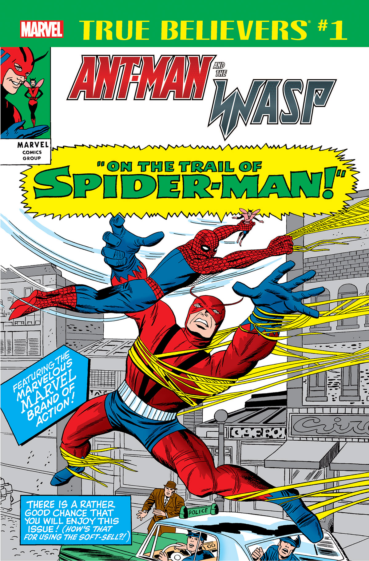True Believers: Ant-Man and the Wasp - On the Trail of Spider-Man Vol 1