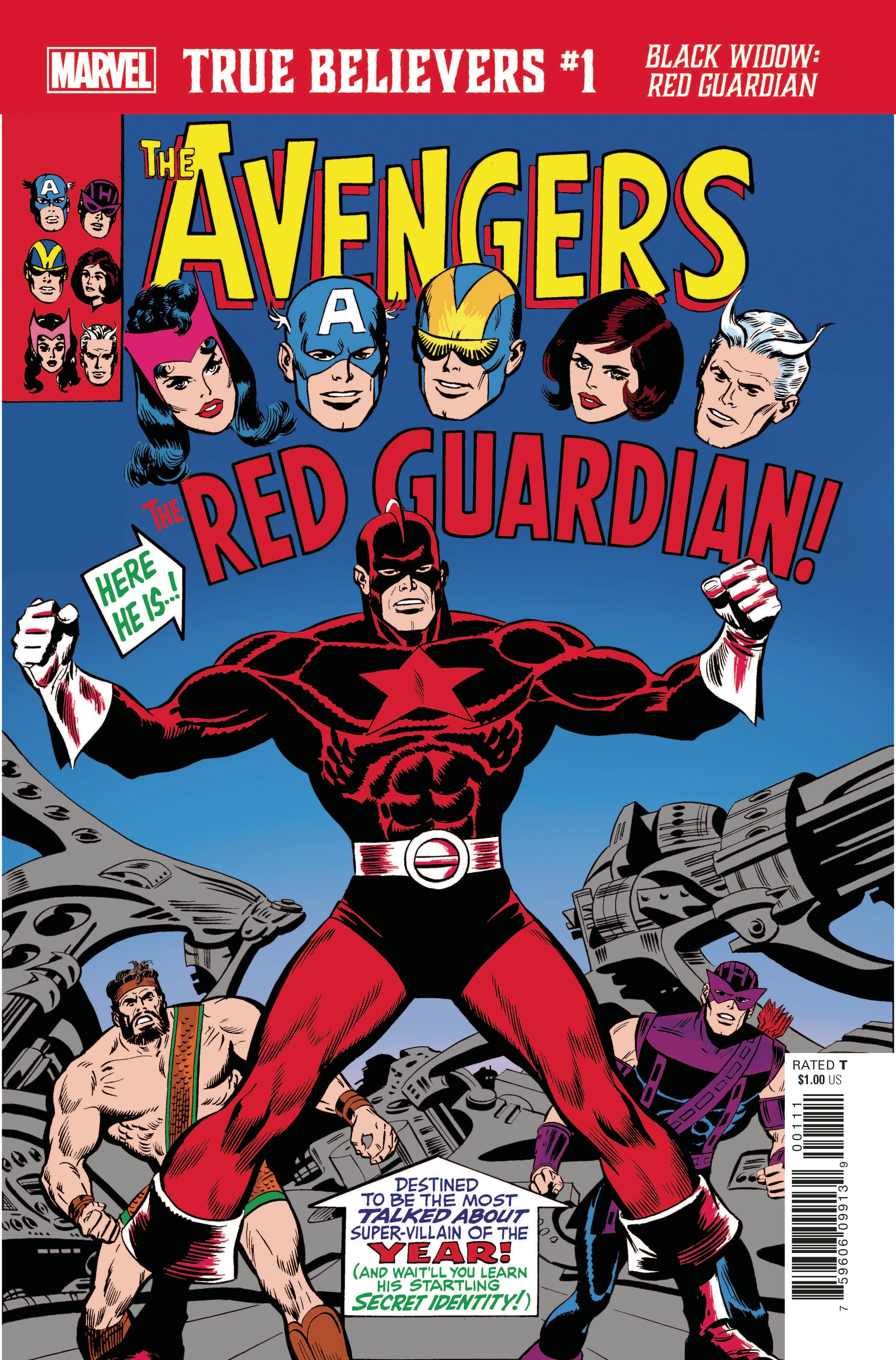 True Believers: Black Widow - Red Guardian Vol 1 1