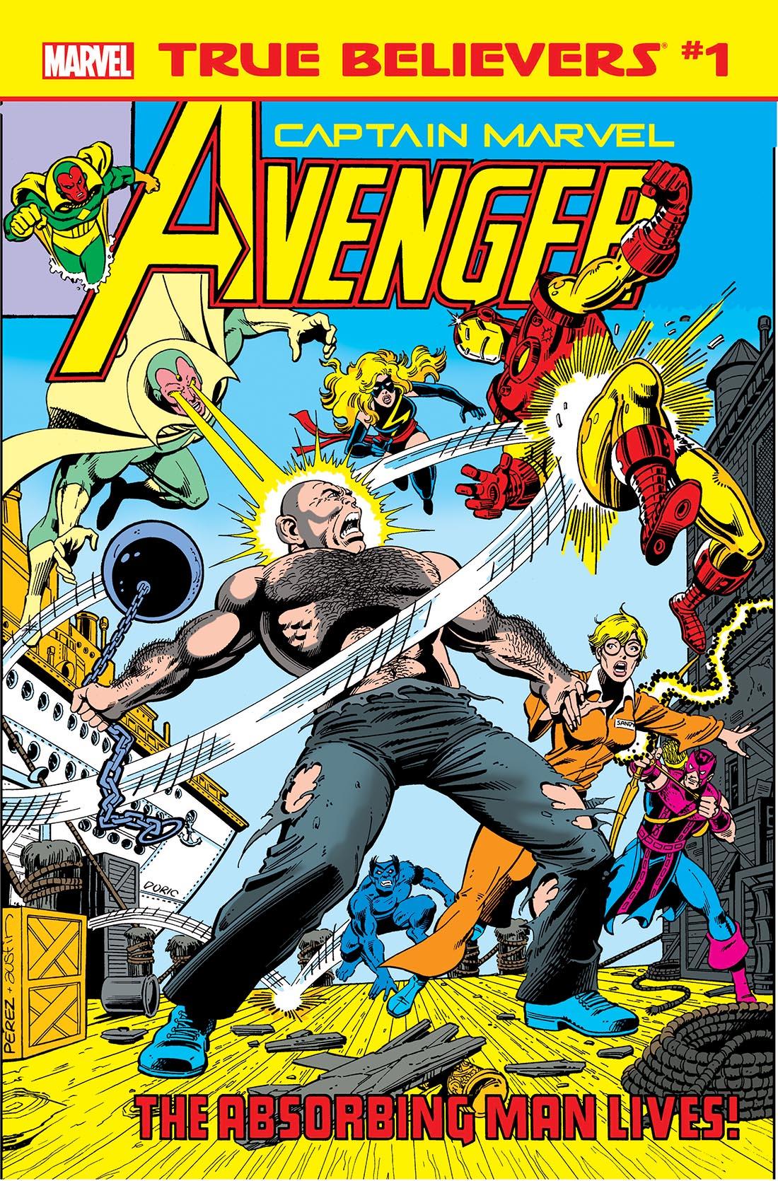 True Believers: Captain Marvel - Avenger Vol 1 1