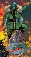 Victor von Doom (Earth-616) and Zora Vukovic (Earth-616) from Fantastic Four Vol 6 34 001