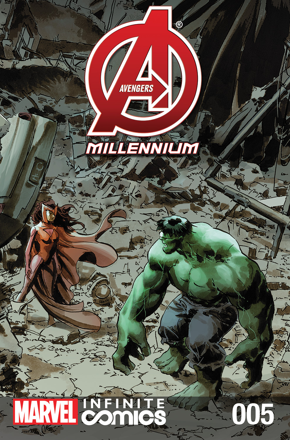 Avengers: Millennium Infinite Comic Vol 1 5