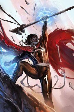 Doctor Voodoo Avenger of the Supernatural Vol 1 1 Textless.jpg