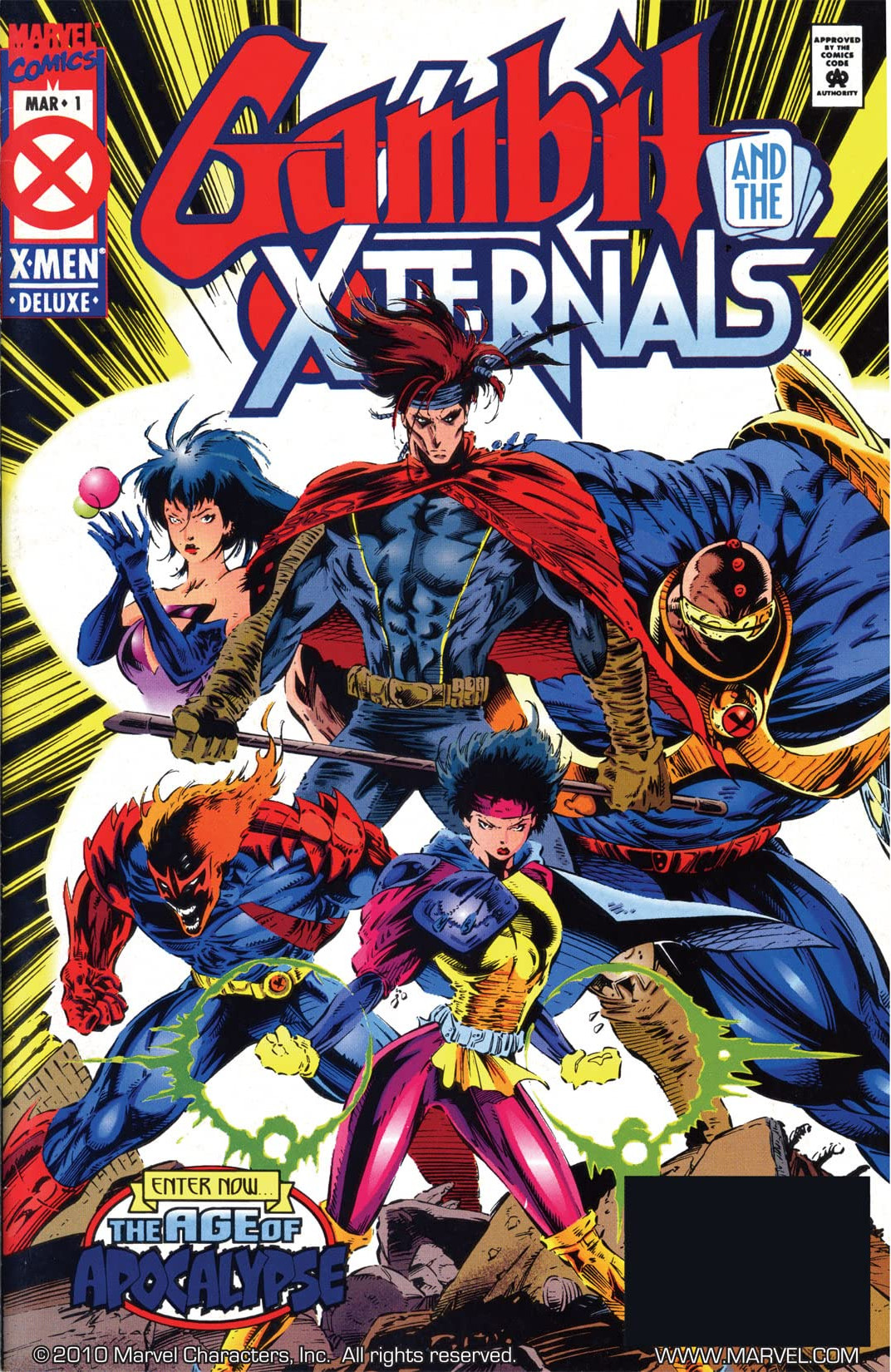 Gambit and the X-Ternals Vol 1