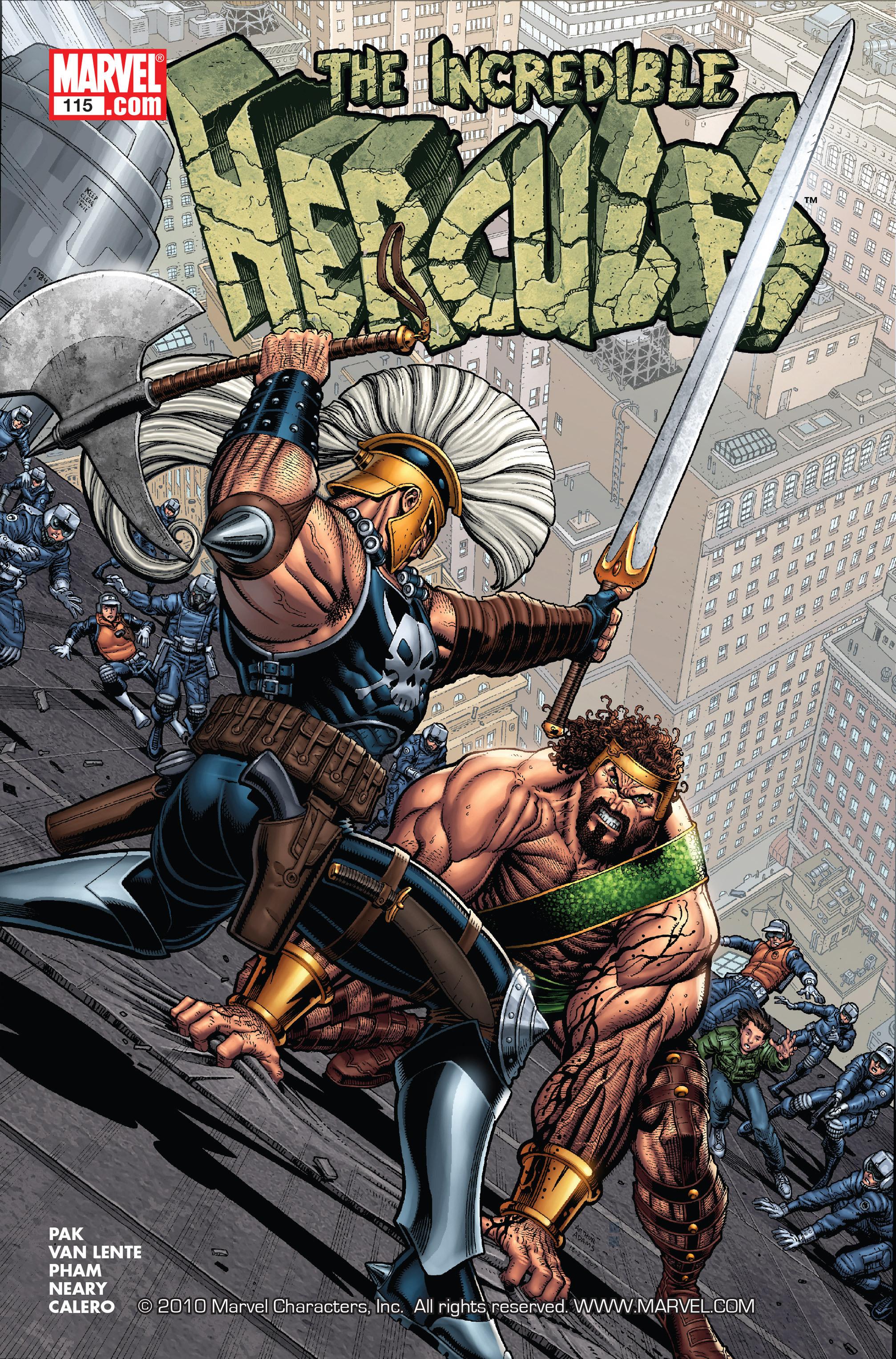 Incredible Hercules Vol 1 115