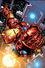 Invincible Iron Man Vol 2 1 Quesada Variant Textless