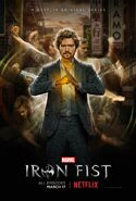 Marvel's Iron Fist poster 003