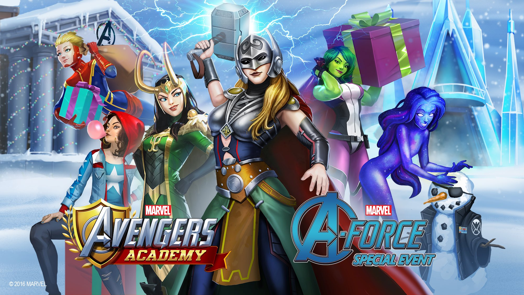 A-Force (Earth-TRN562)/Gallery